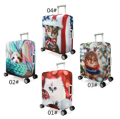 """18-20""""Pet cat Elastic Luggage Suitcase Spandex Dust-proof Cover Protector Jacket"""