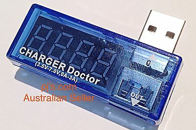 Charge Current Power Detector Battery USB Tester Voltage Meter