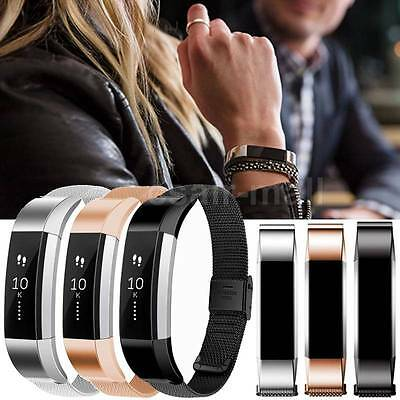 Milanese Mesh Watch Bracelet Stainless Steel Fitness Band Strap For Fitbit Alta