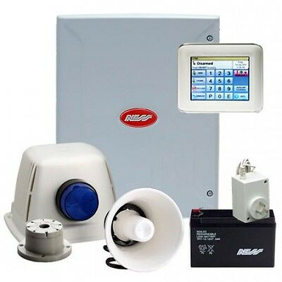 Home Security System - Ness D8xD 8 Zone Alarm System Kit
