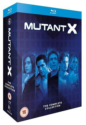Mutant X - The Complete Series Collection (Blu-ray) Seasons 1 2 3 BRAND NEW!!