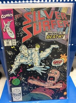 The Silver Surfer #43 Marvel Comics