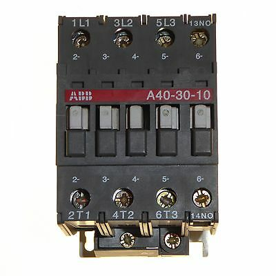 65 amp three phase contactor 24 volt coil 65A 18.5kW triple pole ABB A40-30-10