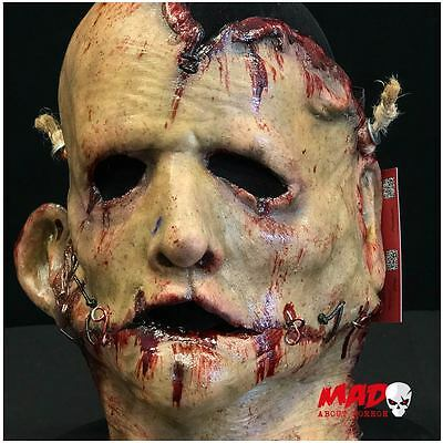 Unique Mutilated Skin Latex Mask - Horror Serial Killer Collectible Collector