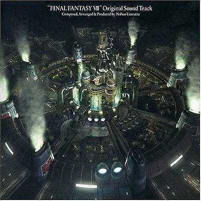 Final Fantasy VII Original Soundtrack GAME MUSIC 4 CD SET Square Enix NEW