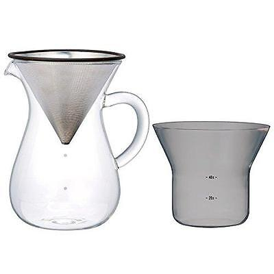 1.1 Liter Kinto Carafe Coffee Set with Strainer - No Need for Paper Filters