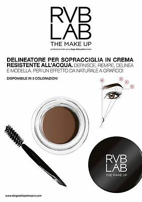 Eyebrow Cream Delineatore Sopraccigliare 302 Diego Dalla Palma Professional 4Ml