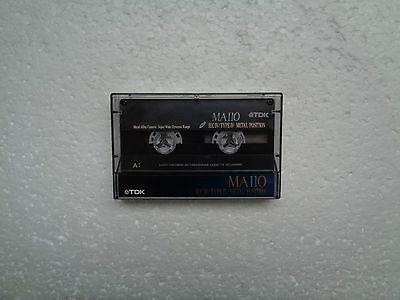 Vintage Audio Cassette TDK MA 110 From 1992 - Fantastic Condition !!