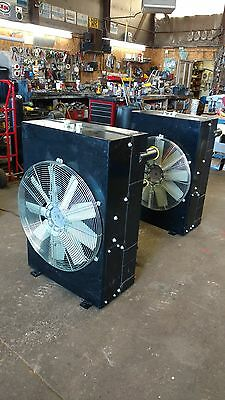 2- Akg Thermal Systems Hydraulic Oil Cooler/heat Exchanger