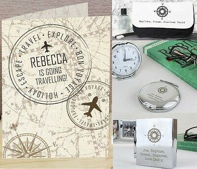 Personalised Travel Gifts Ideas For Him Her Mens Birthday Fathers Day Travelling