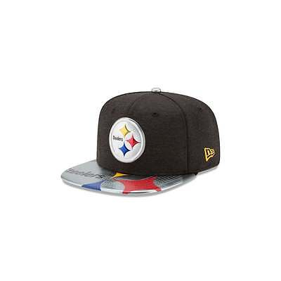 New Era NFL Pittsburgh Steelers 2017 Draft 9Fifty Snapback Cap