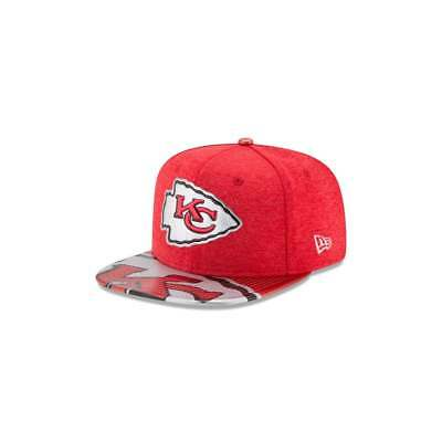 New Era NFL Kansas City Chiefs 2017 Draft 9Fifty Snapback Cap