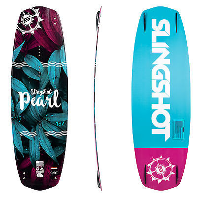 Slingshot Womens Wakeboards - Pearl 2017 - Girls All Terrain Board, Boat, Cable