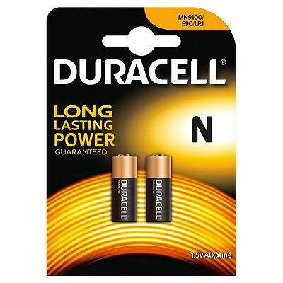 Duracell Alkaline MN9100 1.5v Battery - Pack of 2