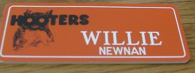 HOOTERS Willy Name Tag