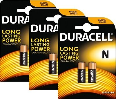 Duracell Alkaline MN9100 1.5v Battery - Pack of 6