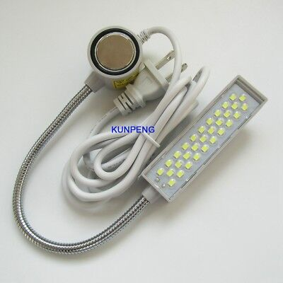 30 Led Sewing Machine Light Lamp Magnetic Base Goose Neck FOR Singer, Consew