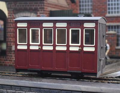 Timpdon 2 compartment coach 32mm maroon SM32