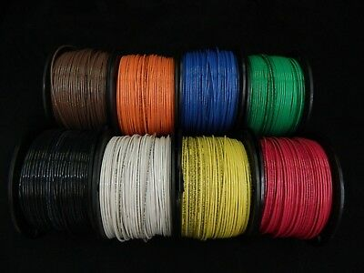 14 Gauge Thhn Wire Stranded Pick 4 Colors 100 Ft Each Thwn 600V Cable Awg