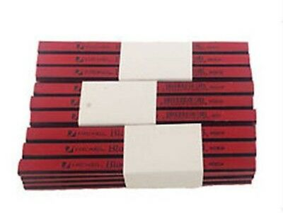 Rexel Blackedge  Grade Carpentry & Woodwork 36 Carpenters Pencils Red Medium