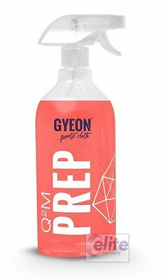 Gyeon Q2M Prep 1 Litre - Polish and Silicone Residue Remover & Pre-Wax Cleaner