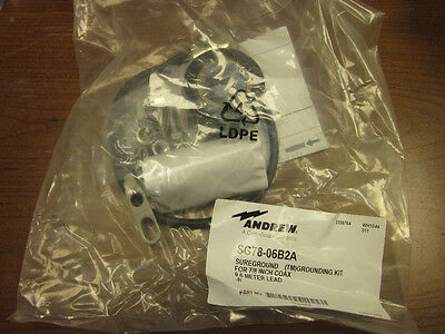 """Andrew Sg78-06B2A Sureground For 7/8"""" Coax (New)"""