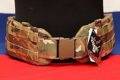 Russian army spetsnaz original SRVV molle war belt multicam medium