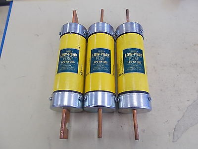 Buss Fuse LPS-RK-300, LOT OF 3