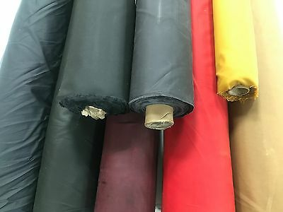 COTTON CANVAS WAX FABRIC 9 Cols Marine Quality Oilskin Outdoor Jackets Clothing