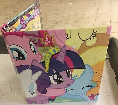 My Little Pony 3-ring Binder For Card Game Includes Checklist For TCG School