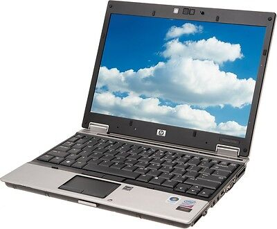 "HP 2540P LAPTOP WINDOWS 7 CORE i5 WEBCAM 250GB 4GB 12"" LCD FIREWIRE 6822"