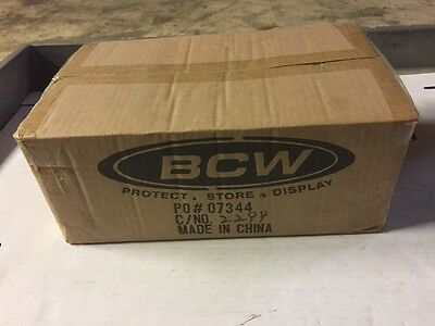 BCW Silver Age Comic Book Bags, Factory Case Of 1000 Bags.