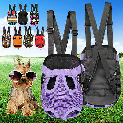 Pet Carrier Dog Cat Rabbit Puppy Carrier Travel Kennel Cage Bag Fabric Backpack