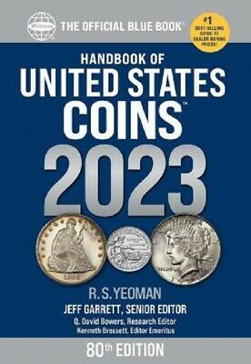 The New Official Blue Book A Guide Book of United States US Coins 2018 75th Free