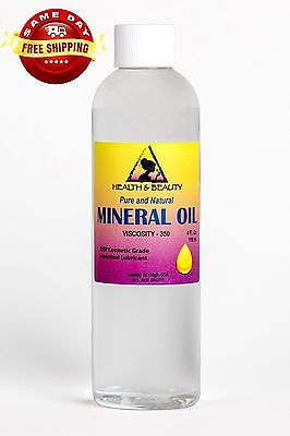 MINERAL OIL 350 VISCOSITY NF USP GRADE LUBRICANT by H&B Oils Center PURE 4 OZ