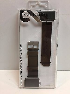 Genuine Case Mate Smartwatch Band Apple Watch 42mm Tobacco CM032795