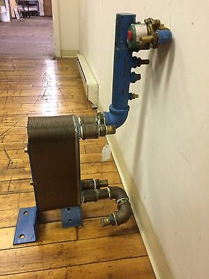 Heat Exchanger, Brazed 50 Plate