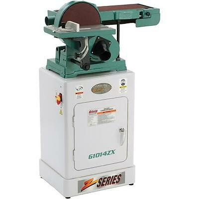 G1014ZX Grizzly Combination Sander with Cabinet Stand