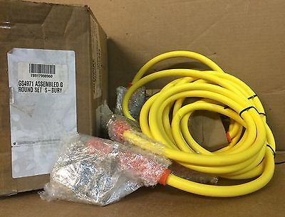 NIB  GS4971 2680 Electrical Grounding Set (4-Way) P1-2B