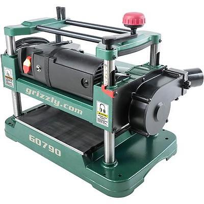 "G0790 Grizzly 12-1/2"" Benchtop Planer with Dust Collection"