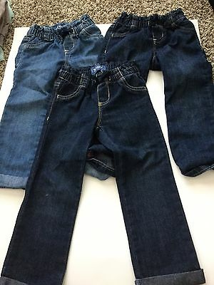 Old Navy Toddler Girl Demin Jeans Size 3T Lot of 3