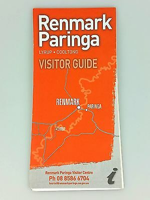 Vintage Road Map - Visitor Guide - Renmark Paringa - South Australia - Klms