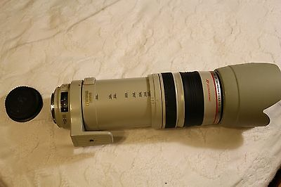 canon 100-400mm 4.5-5.6 L IS digital camera lens good condition
