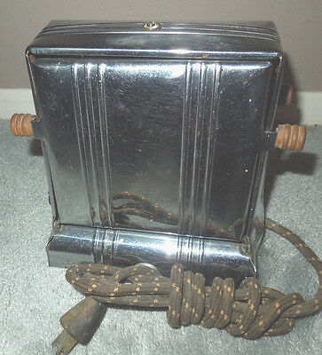 1930's PROCTOR THERMOSTATIC TOASTER MODEL 1443 Antique WORKS
