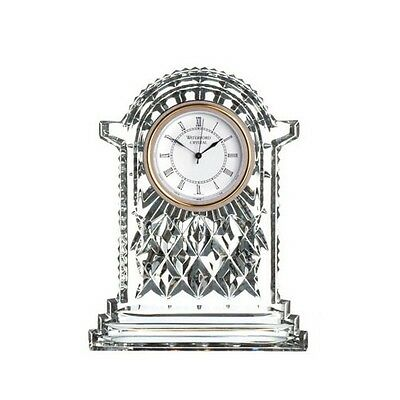 NEW Waterford Crystal Clocks Large Carriage Clock 12cm. Low Price!