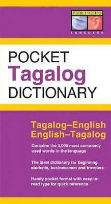 NEW Pocket Tagalog Dictionary By Renato Oerdon Paperback Free Shipping