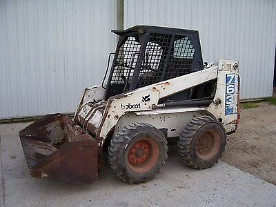 Bobcat 763 skidsteer loader skid steer