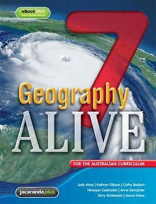 NEW Geography Alive 7 for the Australian Curriculum & eBookPLUS By Judy Mraz