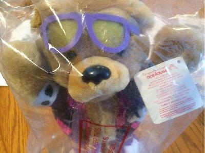 Teddy Grahams Rock Star Plush Bear Nabisco Applause Plush Bear