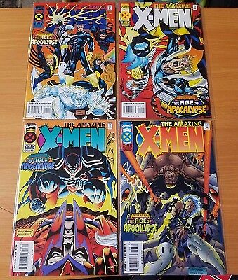 The Amazing X-Men 1-4 Complete Set Run! ~ NEAR MINT NM ~ 1995 Marvel Comics